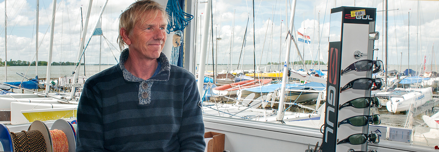 Havenmeester Jeroen den Hartog